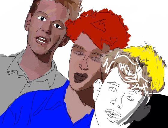 Kunstnerisk fremstilling av Depeche Mode